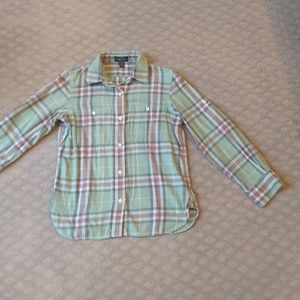 New listing! Button-down flannel